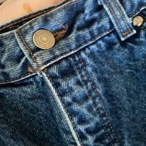 Levi's Shorts - VTG 80's Levis Denim Jean Shorts Size S/M